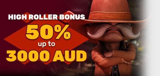 Bonus for True High Rollers